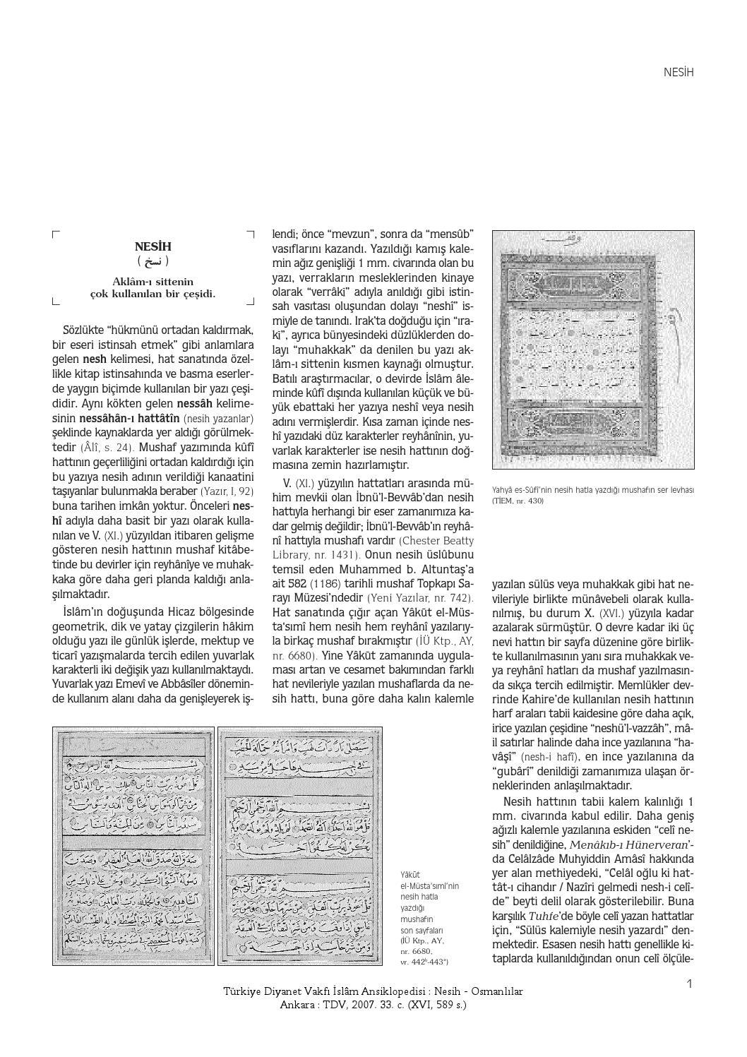 Islam Ansiklopedisi 33 1 250 By Salih Cepoglu Issuu