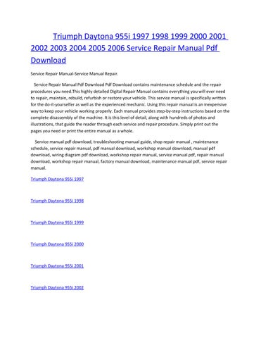 page_1_thumb_large triumph daytona 955i 1997 1998 1999 2000 2001 2002 2003 2004 2005
