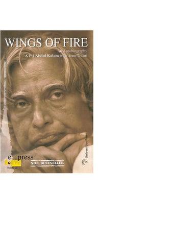 Wings Of Fire Abdul Kalam Epub