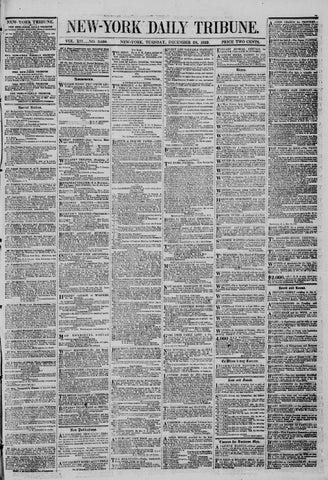 1afec442 New-York Tribune #3650 (28 December 1852) by derosnec - issuu