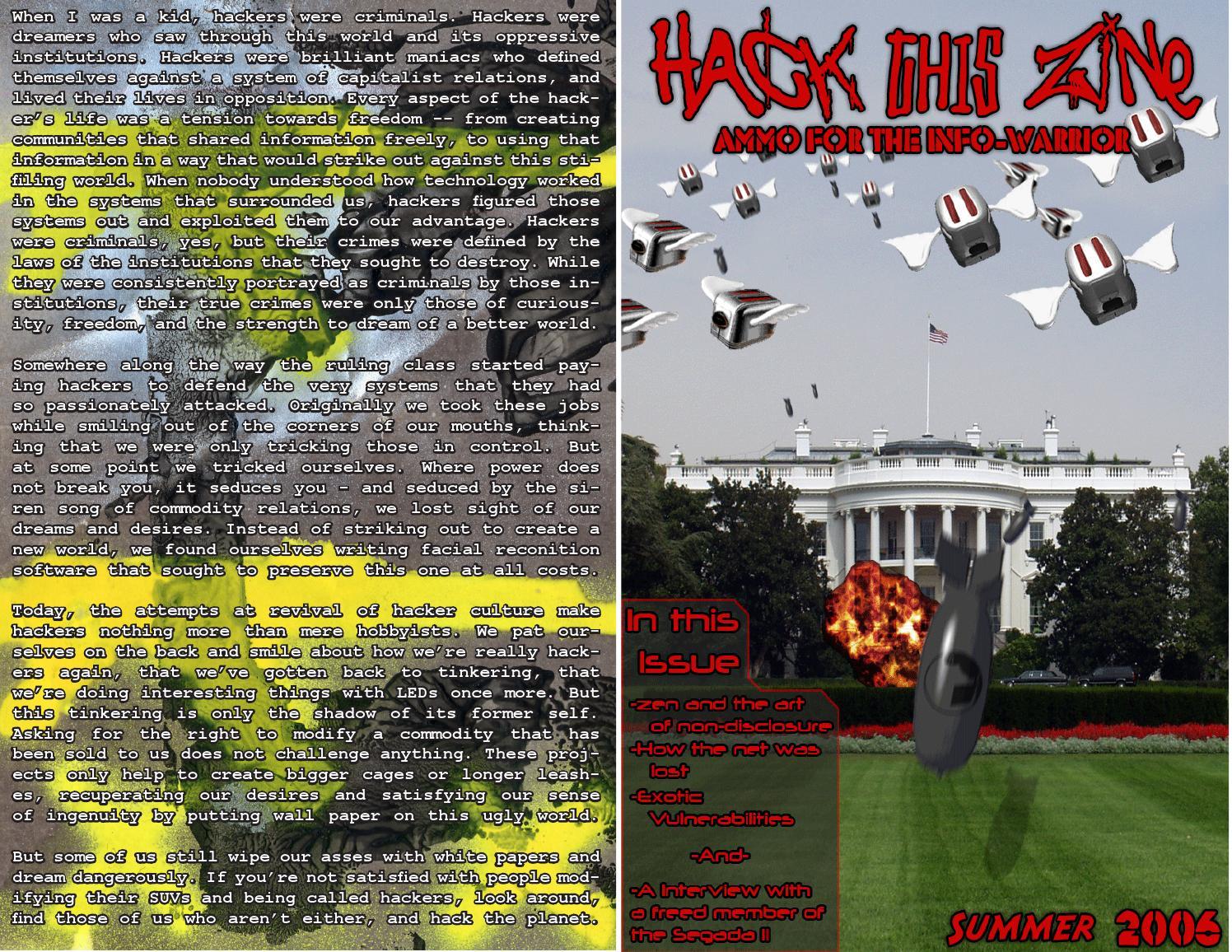 Hack This Zine #4 by derosnec - issuu