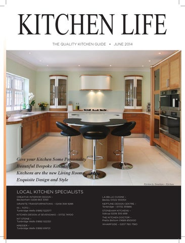 Kitchen life by fishmedia issuu for Creative interior designs beckenham