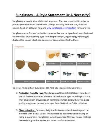 39008755ff Buy Best Offers Prescription Sunglasses in Dubai by mohammedbilal192 ...