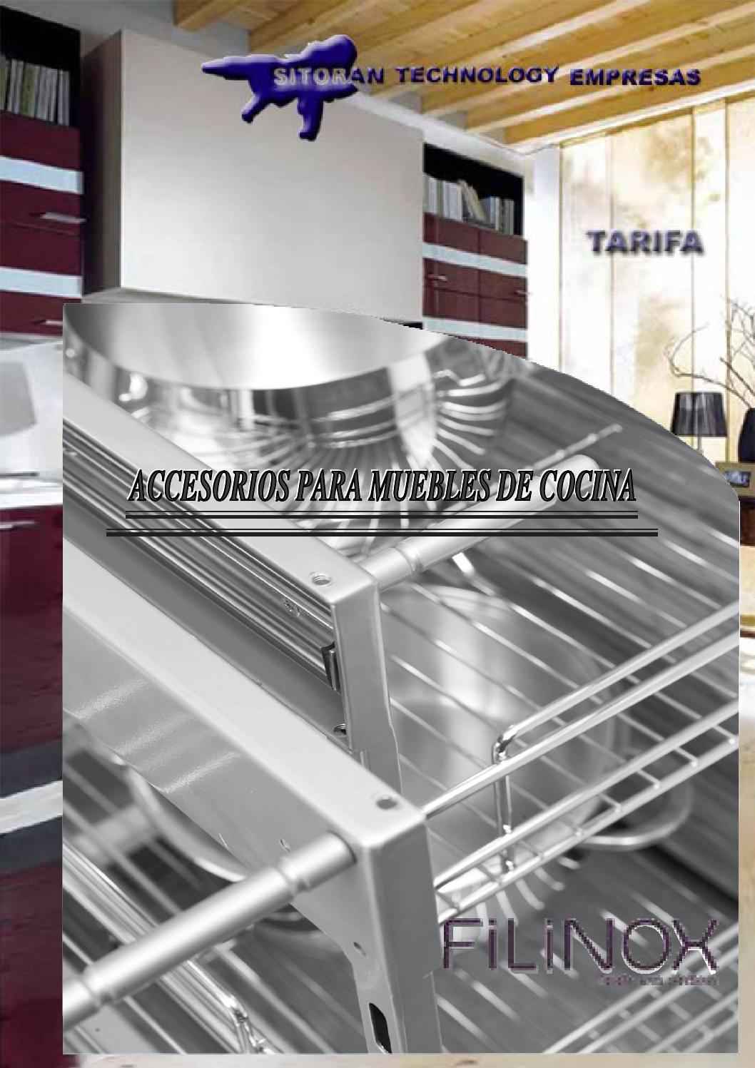 Tarifa accesorios para muebles de cocina 2014 by sitoran for Muebles para pub