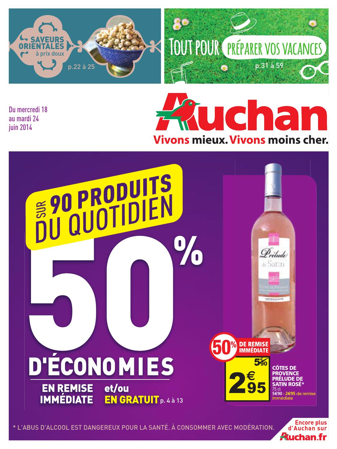 auchan catalogue 18 24juin2014 by issuu. Black Bedroom Furniture Sets. Home Design Ideas
