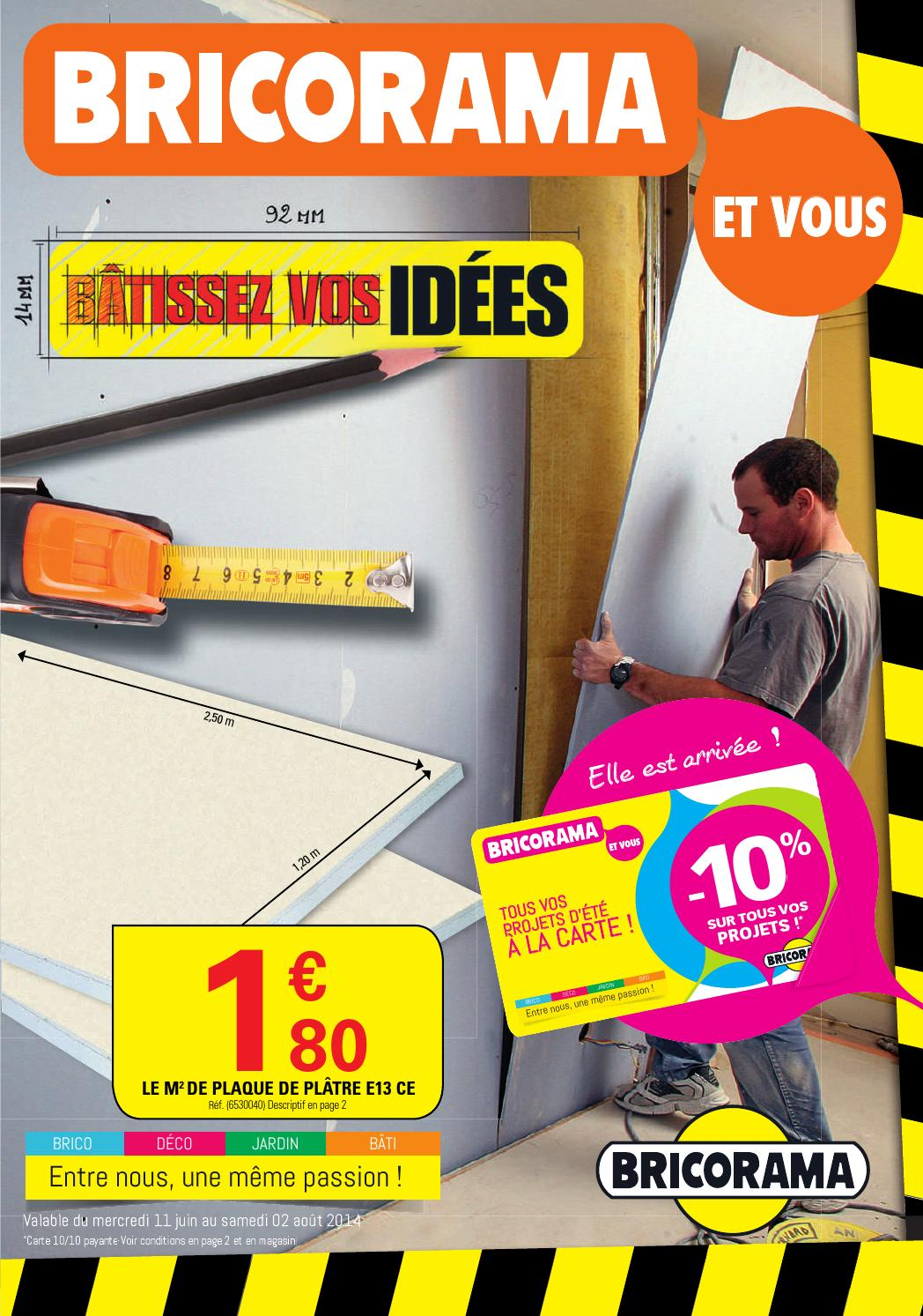 Bricorama Catalogue 11juin 2aout2014 By Promocataloguescom