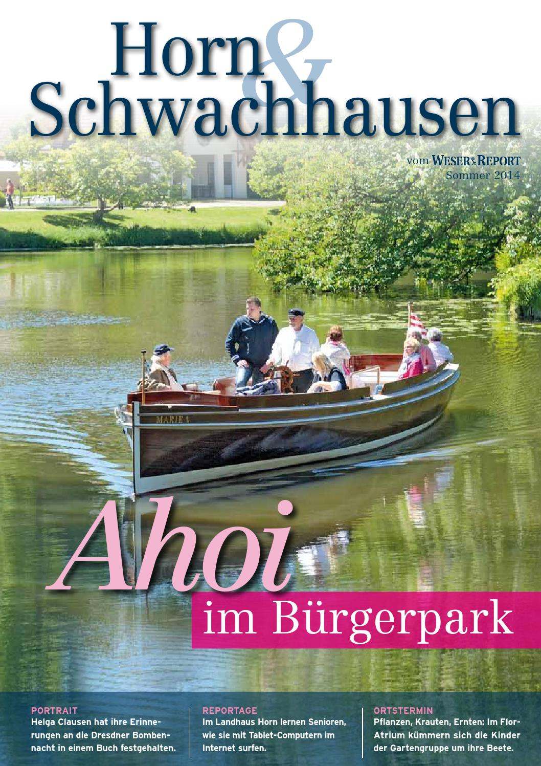 Horn & Schwachhausen_Sommer 2014 by KPS Verlagsgesellschaft mbH - issuu