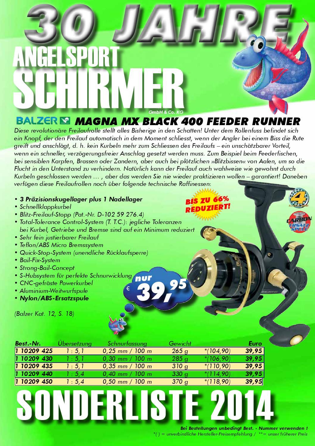 Balzer Feedermaster Pellets Hair Rig mit Speer Vorfachhaken Gr.12