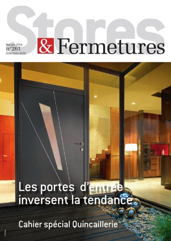 Stores & Fermetures N°261 by INFOPRO DIGITAL - issuu