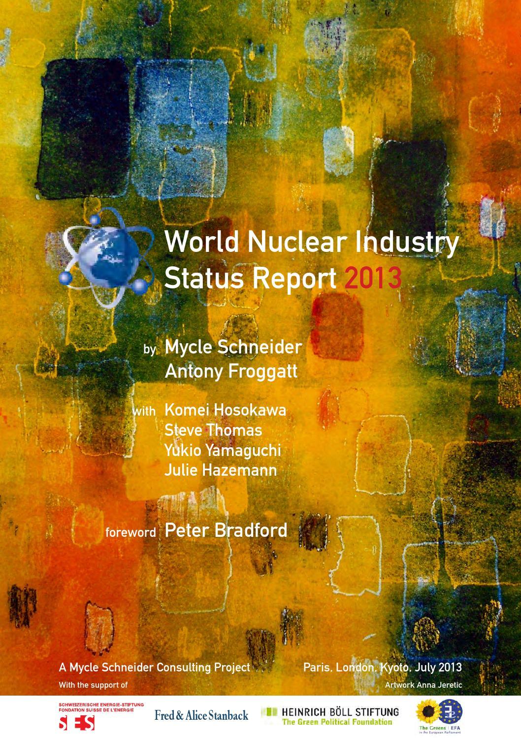 World Nuclear Industry Status Report 2013 by Fundacja im  Heinricha