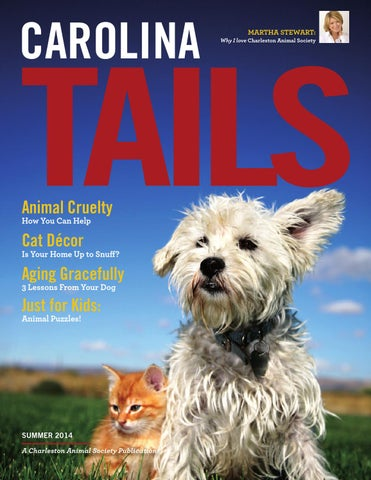 Carolina tails summer 2014 charleston animal society by traveler page 1 solutioingenieria Images
