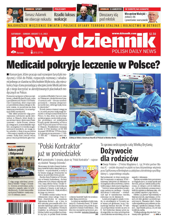 94a4ae0a740da Nowy Dziennik 2013/08/03 by Nowy Dziennik - issuu