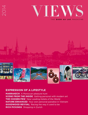 Views 2014 The Baur Au Lac Magazine By Cinnamon Circle Issuu
