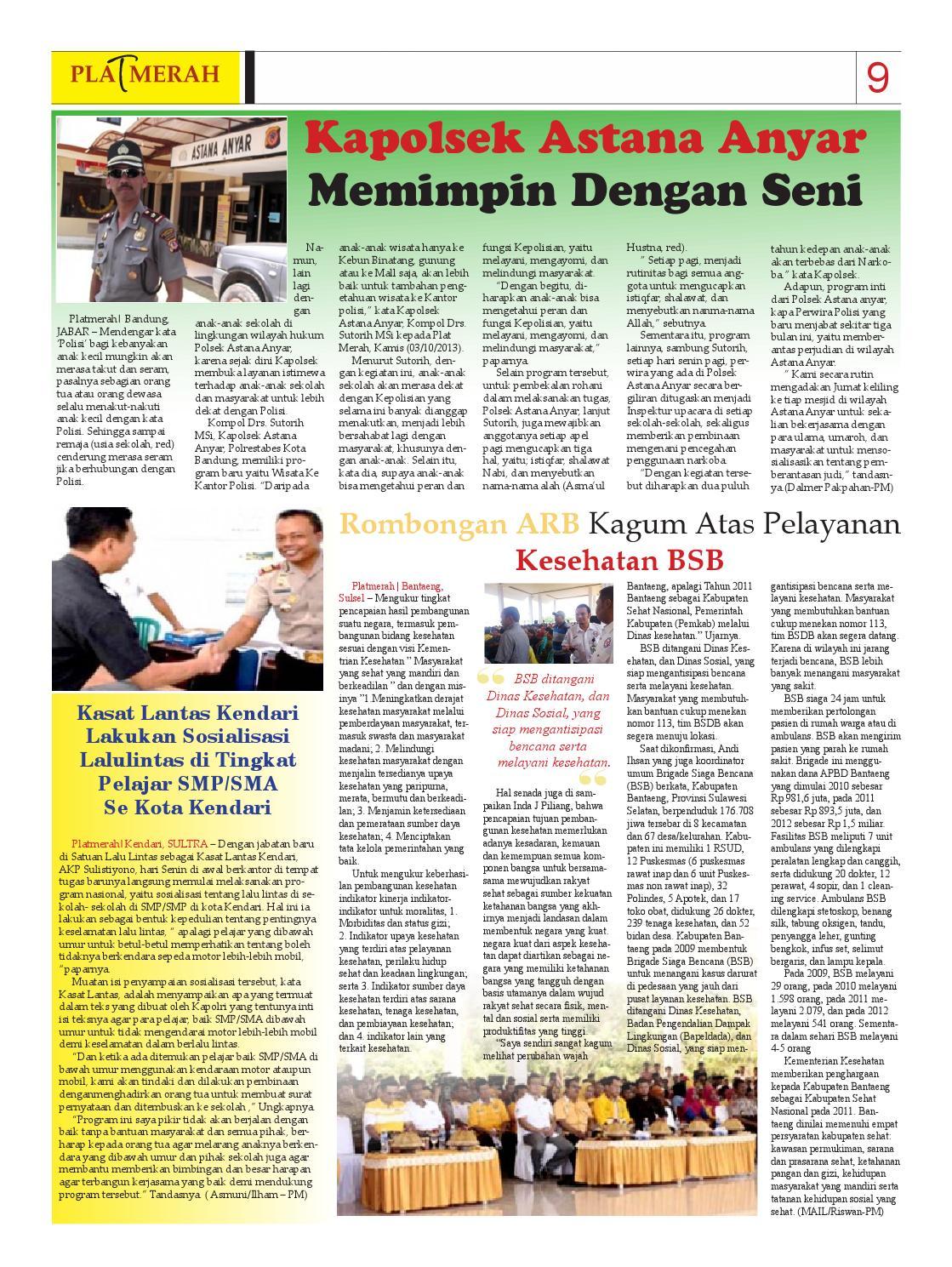 Edisi Oktober 2013 Bongkar Fakta Tajam Dan Terarah By