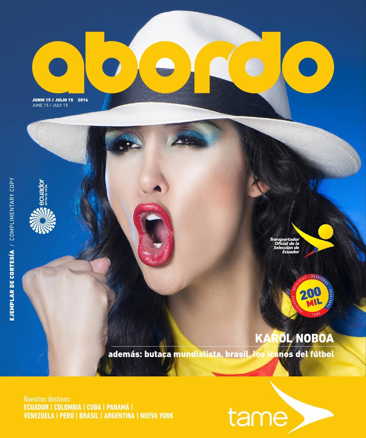 buy popular 5f382 c9fc3 Revista Abordo - Butaca Mundialista by Ekos - issuu