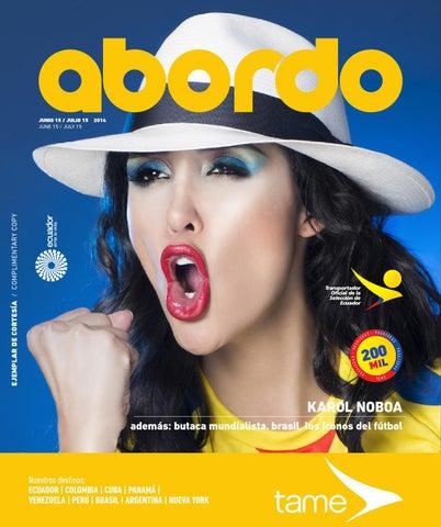 Revista Abordo - Butaca Mundialista by Ekos - Issuu 89c7d058e24
