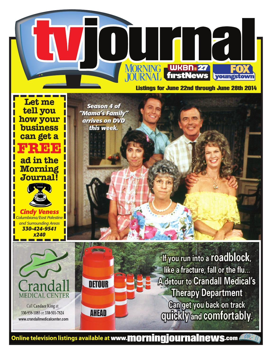 TV Journal 6-22-2014 by Morning Journal - issuu