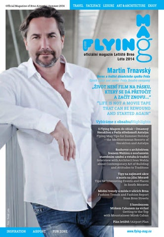 Flying Mag Léto 2014 By Ina Sport Spol S Ro Issuu
