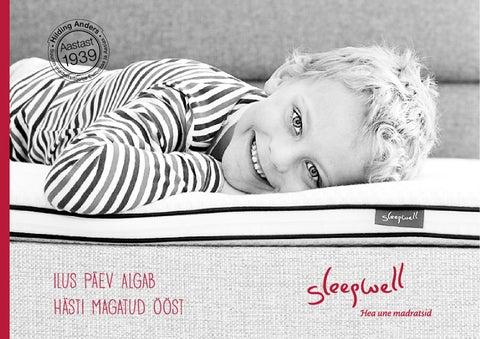 ca0c19fe672 Sleepwell tootekataloog 2014 by Sleepwell - issuu