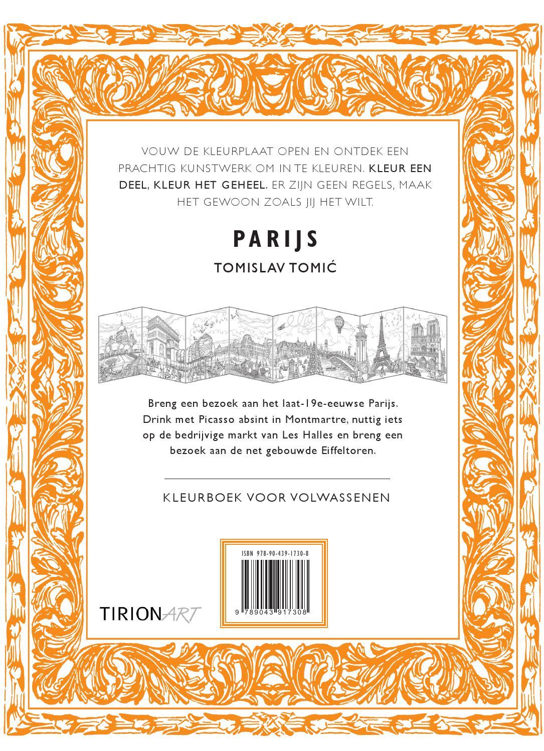 Kleurplaten Voor Volwassenen Parijs.Inkijkexemplaar Kleurboek Voor Volwassenen Parijs By Veen Bosch