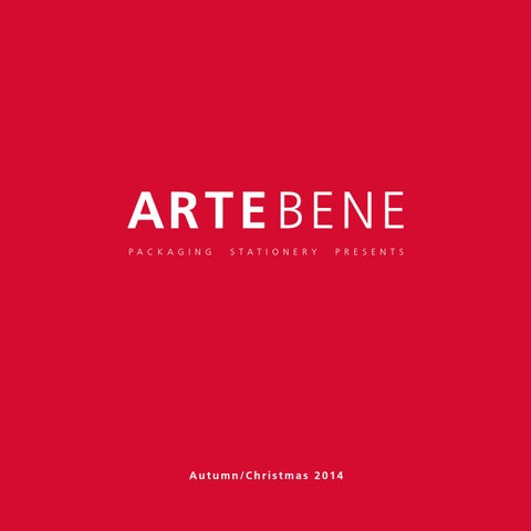 Artebene W14 Autumn Christmas By Artebene Issuu