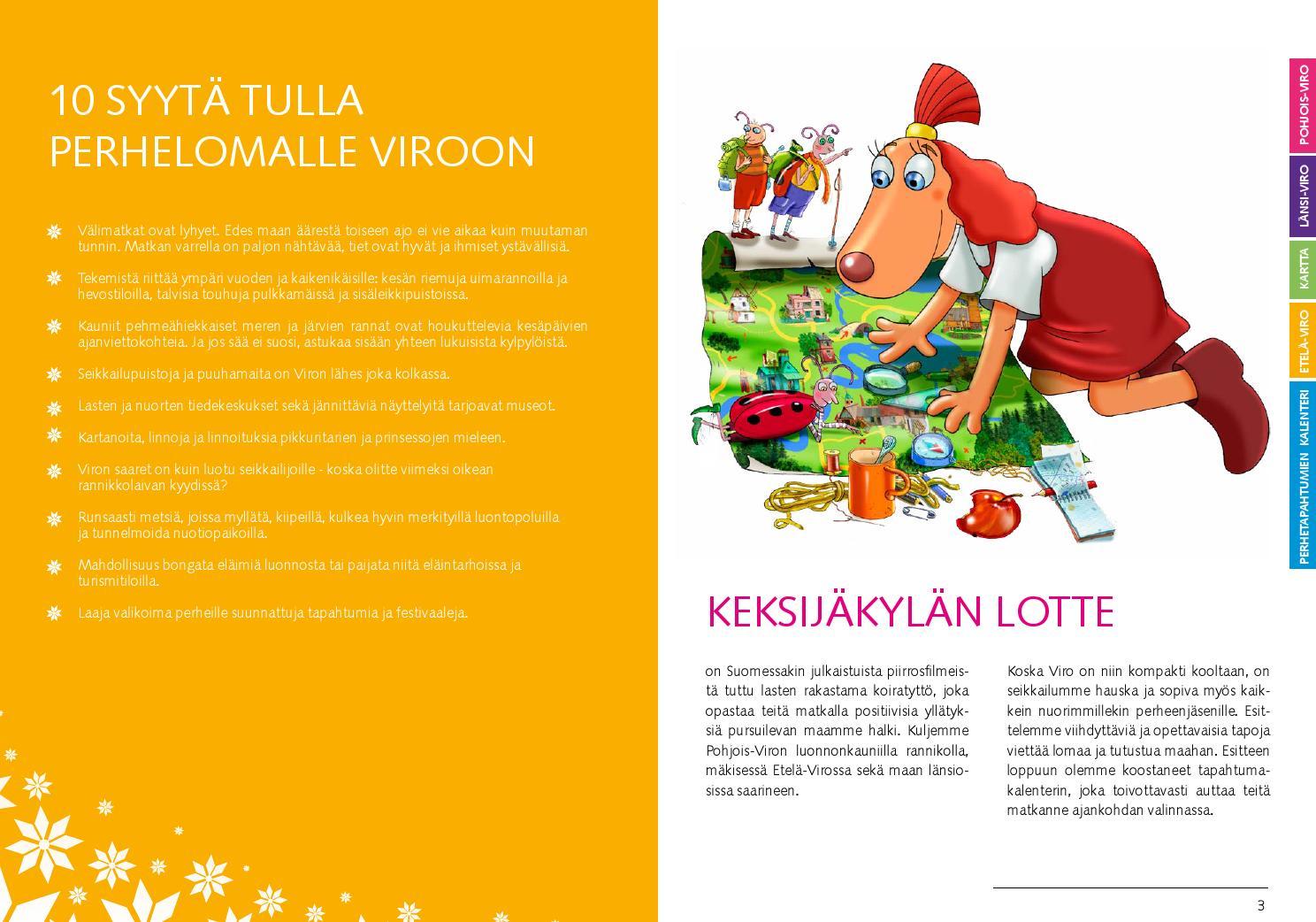 Perheloma Virossa Naurunappulat Kaakkoon By Visit Estonia Issuu