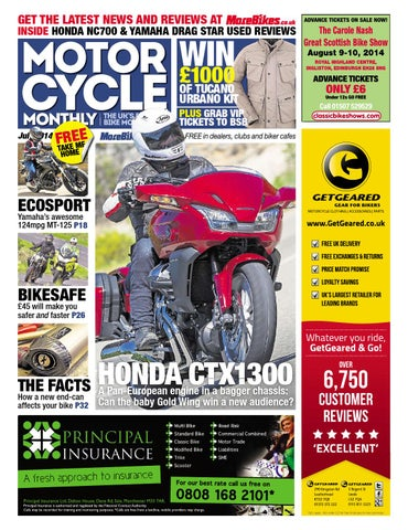 Motor Cycle Monthly - July 2014 - Full Edition by Mortons