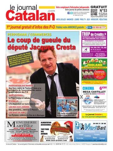 le journal catalan n 53 premier journal gratuit d 39 informations et de petites annonces des po by. Black Bedroom Furniture Sets. Home Design Ideas