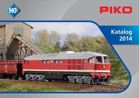 Piko 53243 Personenwagen Modernisierungswagen Gepäck Pw4ge mit Schürze DR H0