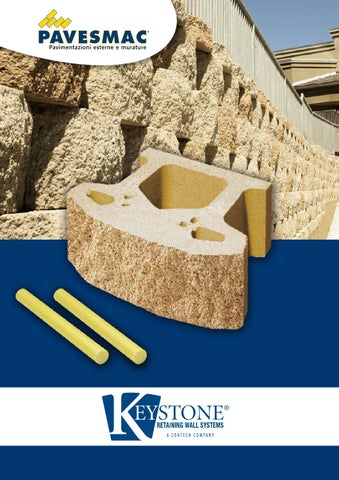 Muri Di Contenimento In Calcestruzzo Costruiti Con Blocchi Catalogo
