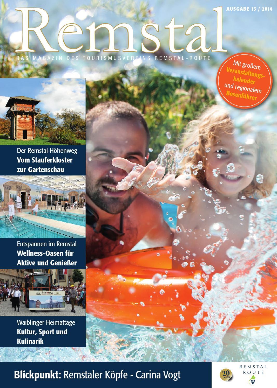 Remstal Magazin Ausgabe 13 By Tourismusverein Remstal Route E V Issuu