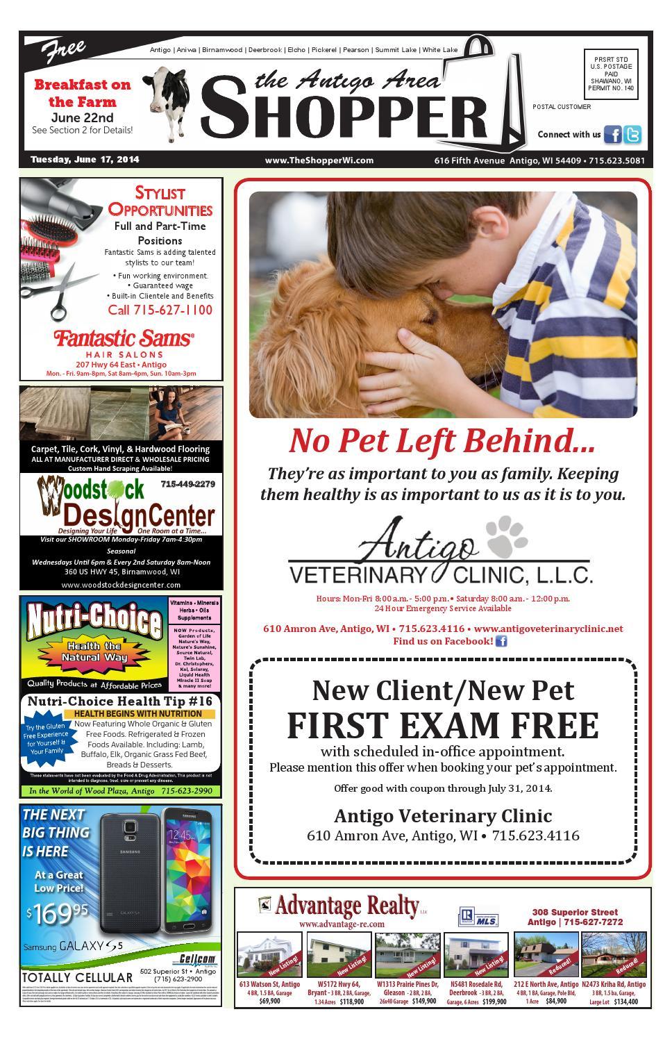 Antigo Area Shopper 06/17/2014 by Antigo Area Shopper - issuu
