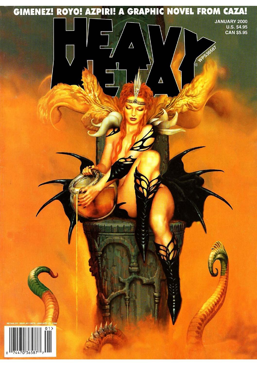 Heavy metal fan art cover by dapao