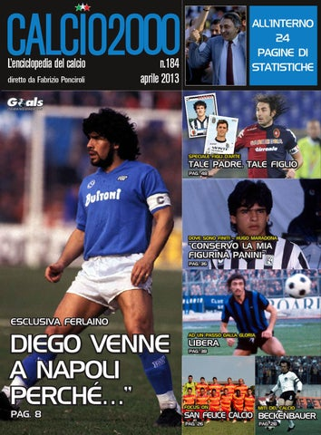 Calcio 184 by TC C SRL - issuu 1c4a0cce98ed