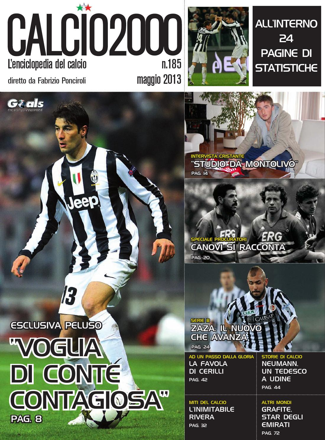 Calcio2000 185 by TC C SRL - issuu a85b5d7c8eb