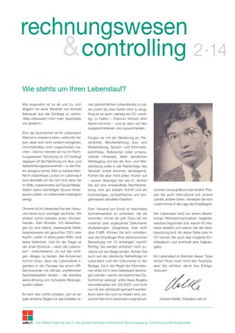 Rechnungswesen & Controlling 02/14 by daylight AG - issuu