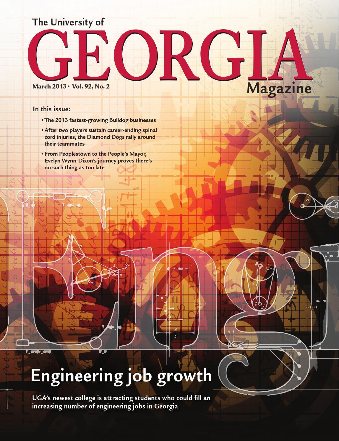 The University of Georgia Magazine March 2013 by University of ...
