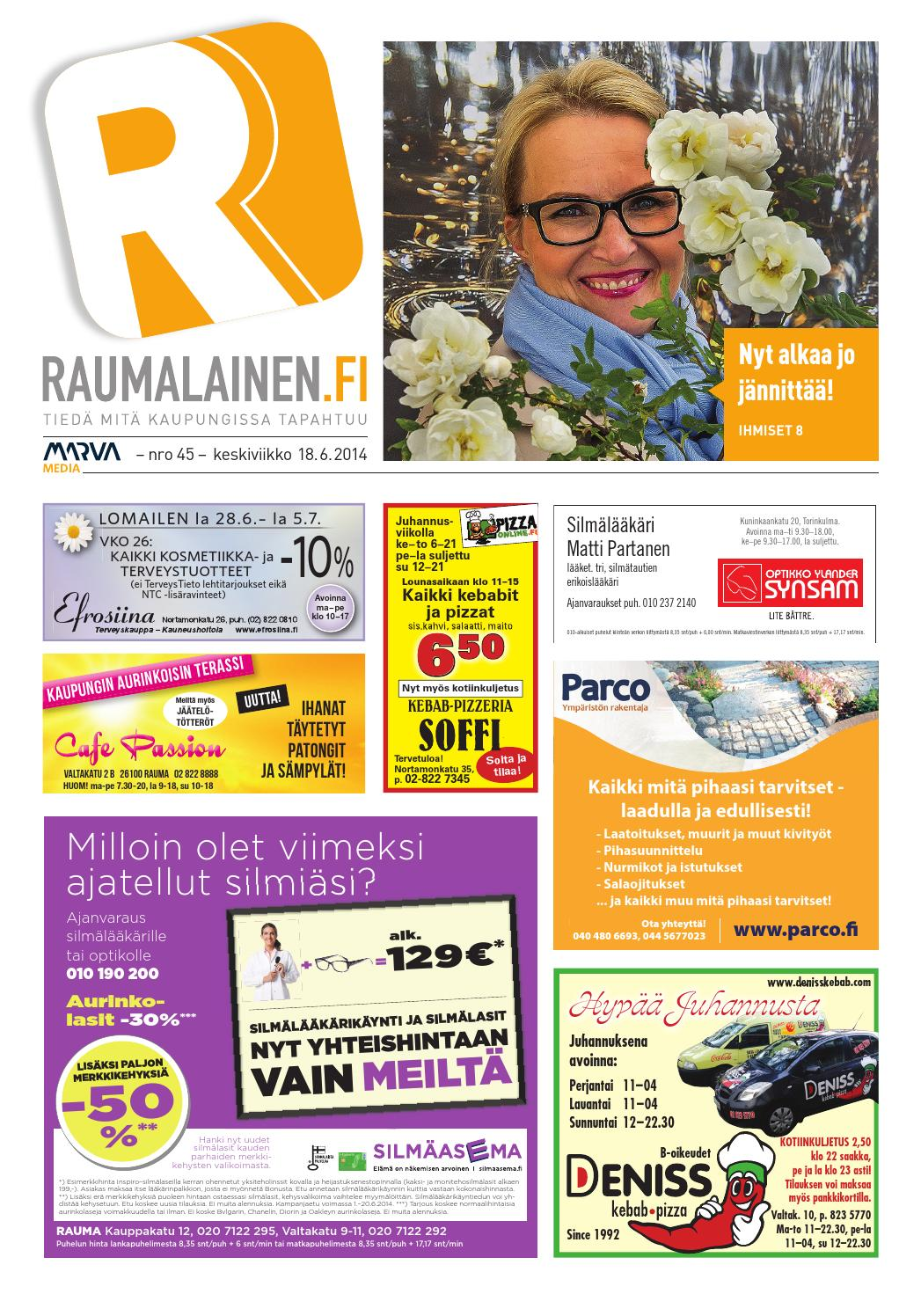 Raumalainen 18.6.2014 by Marva Group - issuu 4746bd633c