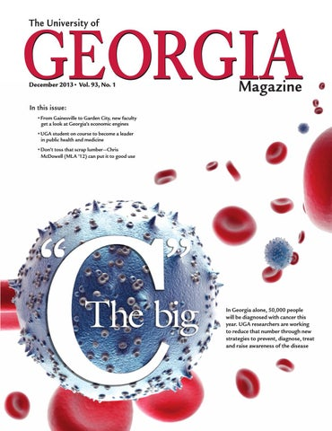 The university of georgia magazine december 2013 by university of page 1 fandeluxe Image collections