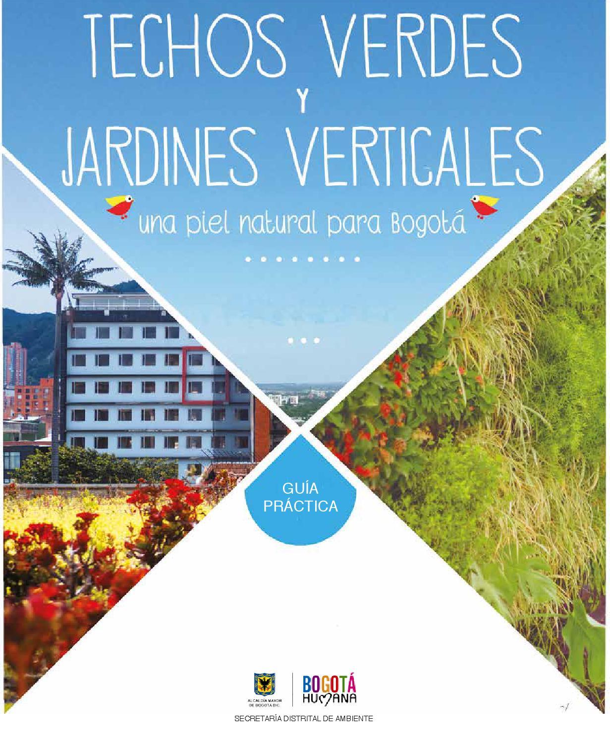 Guia de techos verdes y jardines verticales by ambiente for Jardineros ltda