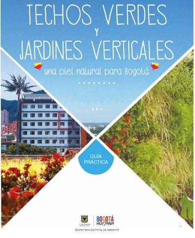 Guia de techos verdes y jardines verticales by ambiente Techos verdes y jardines verticales