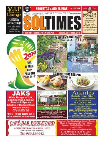 Roquetas 441 by Sol Times - issuu 25b30b3f12bbb