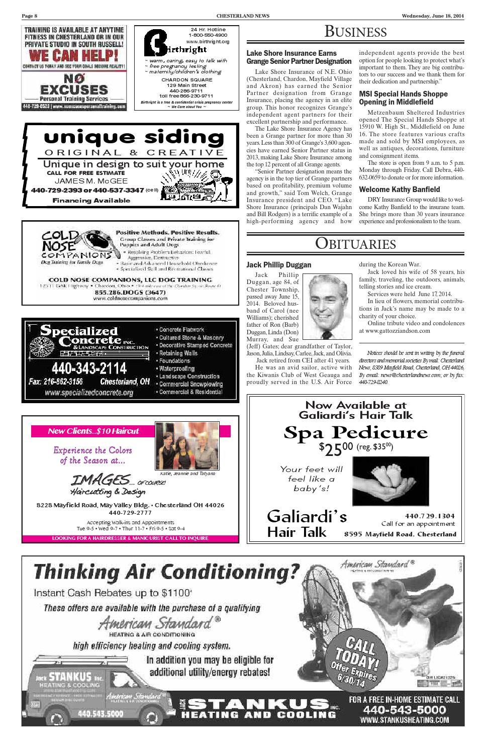 Chesterlandnews 6 18 14 By Chesterland News Issuu