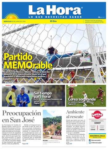 Diario La Hora El Oro 18 de Junio 2014 by Diario La Hora Ecuador - issuu 3c2049eaac38