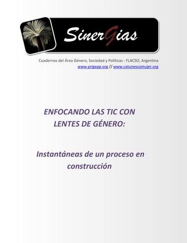 35e8e7e864470 ENFOCANDO LAS TIC CON LENTES DE GÉNERO  Instantáneas de un proceso ...