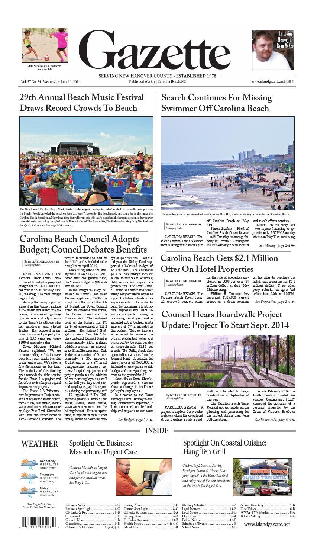 Hotelsamong Greensboro Christmas Parade 2020 Island Gazette June 11th Print Edition by Island Gazette Newspaper