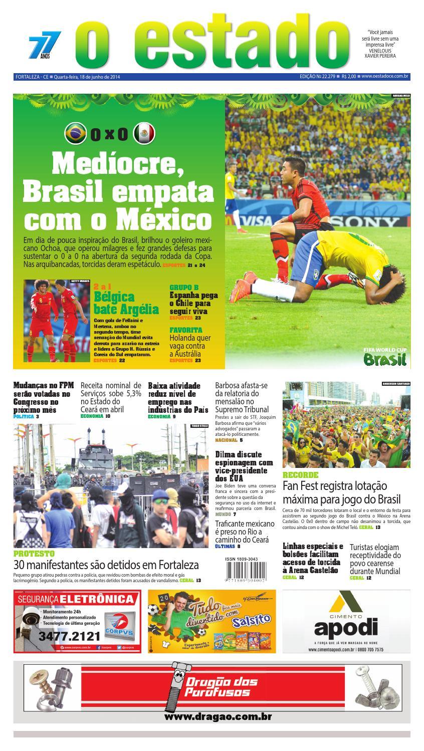 46e150f5c24f5 Edição 22279 - 18 de junho de 2014 by Jornal O Estado (Ceará) - issuu