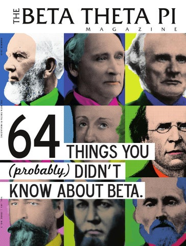 The Beta Theta Pi Magazine - Summer 2014 by Beta Theta Pi