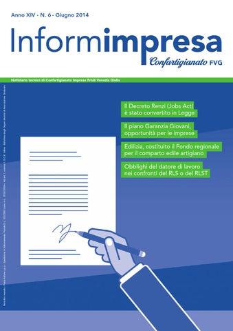 Informimpresa n 6 2014 by Confartigianato-Imprese Udine - issuu 5ea5092e6e96