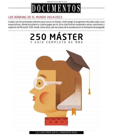 085750936 Ranking 250 mejores Masters. El Mundo 2014 by EAE BUSINESS SCHOOL ...
